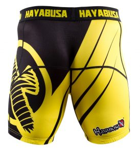recast-compression-shorts-yellow-black-back