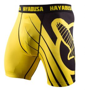 recast-compression-shorts-yellow-black-side