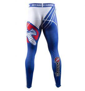 recast-compression-pants-blue-white-back