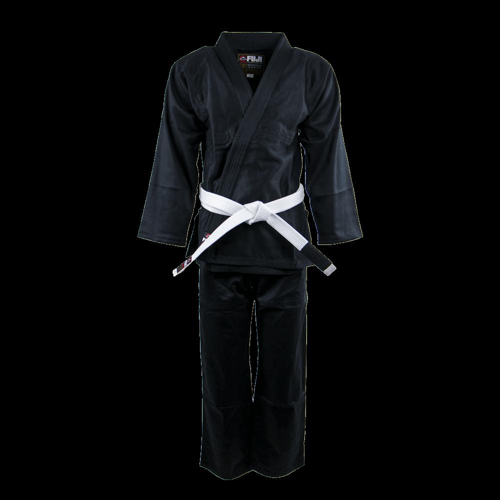 FUJI Saisho BJJ Gi Μαύρο (Με λευκή ζώνη)