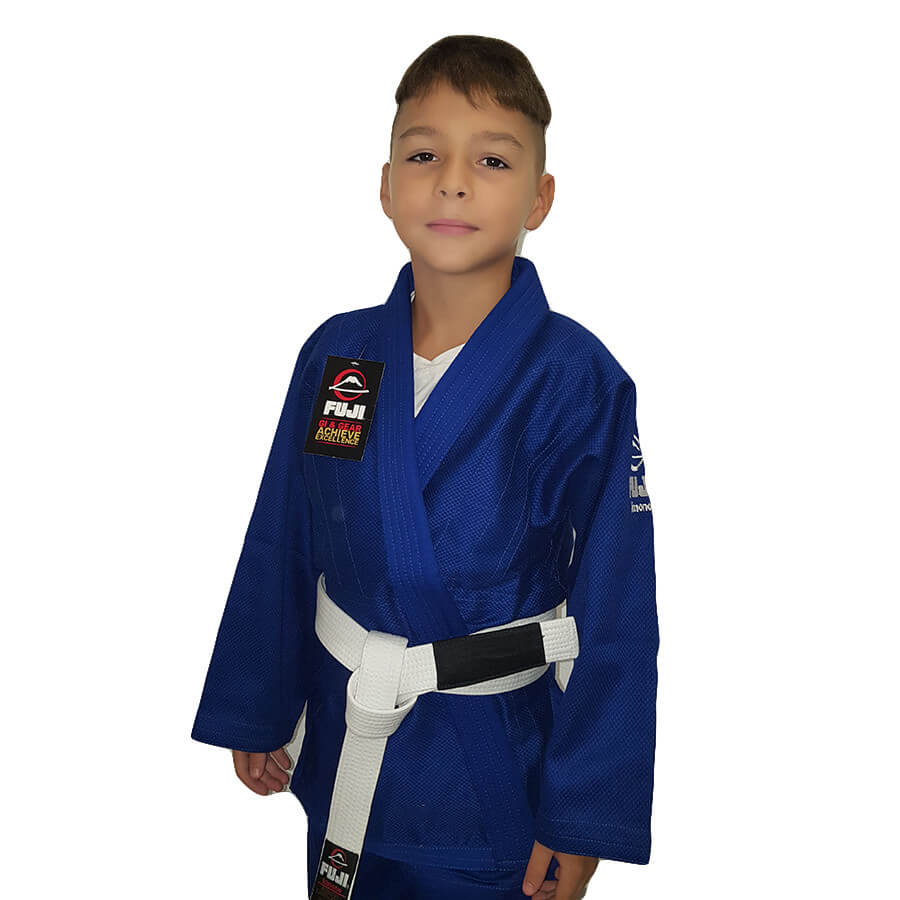 FUJI Saisho BJJ Gi Blue (White Belt included) - Fighters Dome