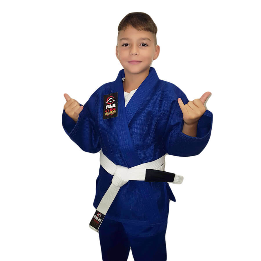 Fuji Saisho BJJ Kids Blue Gi (White belt included)